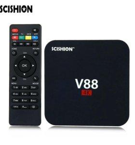 V88 android tv box 1/8 gb