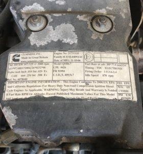 Мотор cummins 6-ти цилиндровый (модель QSB6.7)