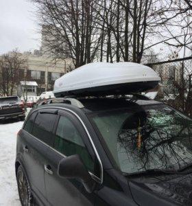 Бокс и багажник, крепления вело и лыж