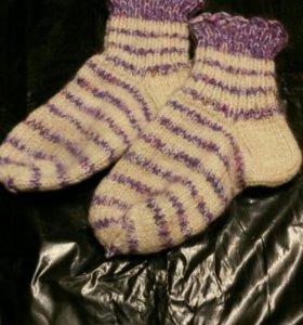 Шерстяные носки.