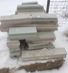 Остатки от пазогребного блока