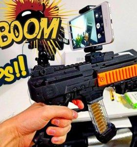 Обучающий автомат Ar game gun + Кукла LOL