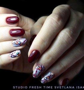 Маникюр🔹️Педикюр🔹️ Наращивание ногтей