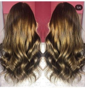 Наращивание волос( капсульное)