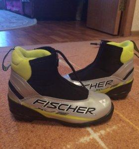 Ботинки лыжные FISHER 35 размер