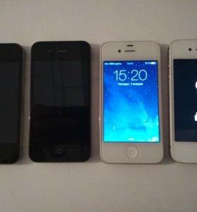 iPhone 4, 4s(на запчасти)