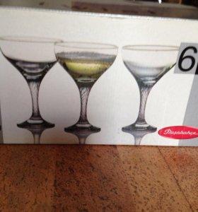 Фужеры для коктейля и бокалы для виски