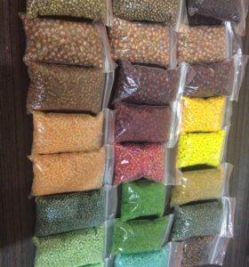 Набор бисера для вышивки и плетения