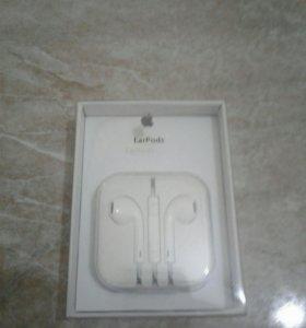 Наушники Apple EarPods 3.5mm original