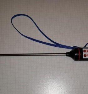 Кухонный термометр щуп TP101 черный