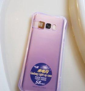 Чехол накладка для Samsung s8+