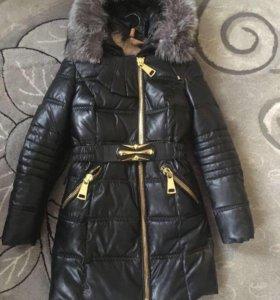Куртка зима s/m новая