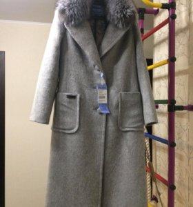 Зимнее пальто размер 46