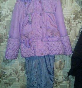 Демисезонный костюм на 5-6 лет