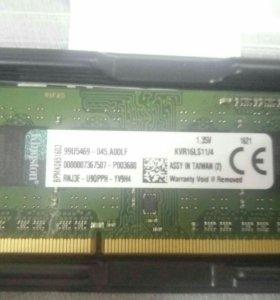 Память для ноутбука Ddr3 4Gb PC3L