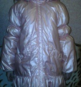 Зимняя куртка, очень теплая 6-7лет