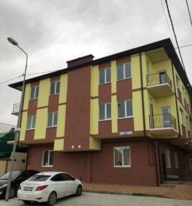 Квартира, свободная планировка, 44.5 м²