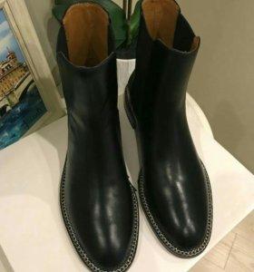 Ботинки Givenchy 39-40 натур кожа