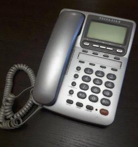 Телефон бытовой с АОН Telta - 214-8 б/у