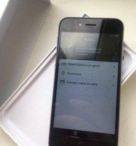 iPhone 6 16Gb Space gray + стекло