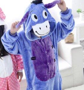 Пижама кигуруми детская (Ослик)