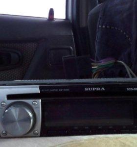 Автомагнитолла SUPRA ,MP3,USB,AUX
