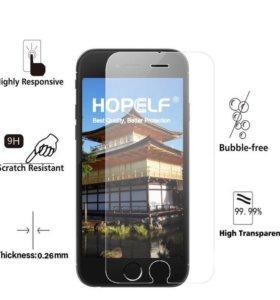 Защитное стекло на iPhone 5, 5S, SE