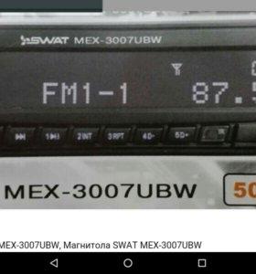 Автомагнитолла SWAT USB,micro-SD,AUX