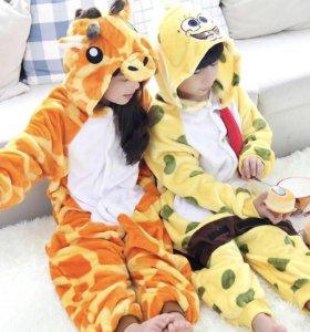 Пижама кигуруми детская (Жираф)