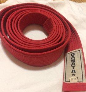ОБИ (пояс для кимоно) красный