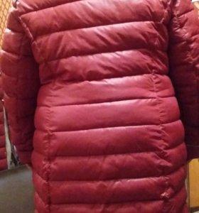 Пальто женское зимнее. Размер 60-62.