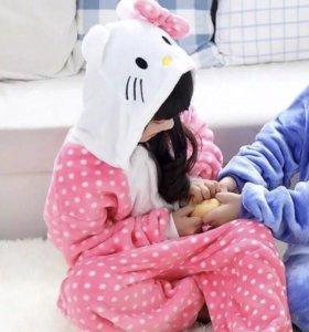 Пижама кигуруми детская (Hello Kitty)