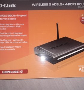 Маршрутизатор D-Link DSL-264OU