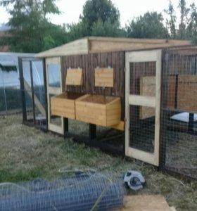 Курятники брудера для цыплят вольеры