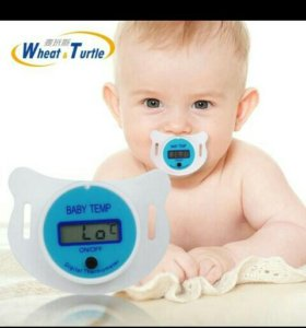 Пустышка-термометр