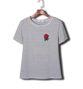 Новая футболка с вышивкой