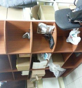 Шкафы офисные (горки) без стекол