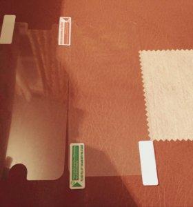 Пленка для iPhone 6 передняя и задняя.