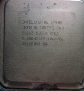 Intel Core 2 Duo E 7400 2.8 Hz