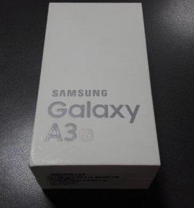Коробка на Samsung Galaxy a3 2016