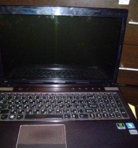 Ноутбук lenovo ideapad z570 (i5/6gb/ssd64gb)
