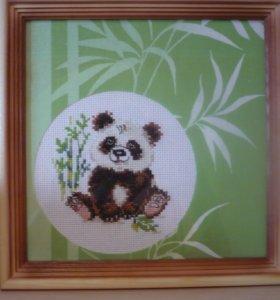 """Вышивка крестиком """"Панда"""""""