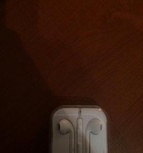 наушники от Iphone 7 оригинальные