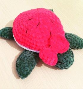 Вязаные игрушки (черепаха)