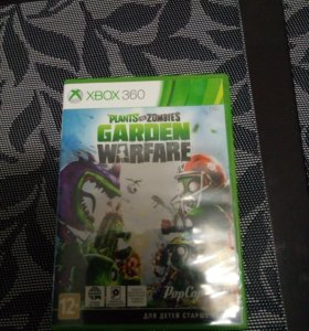 Игра для xbox 360 Plants vs zombies:Garden warfare