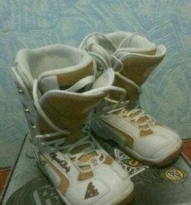 Ботинки для сноуборда 40размер