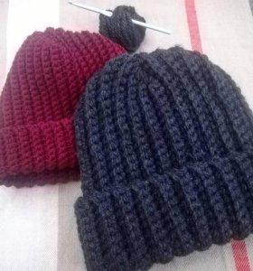 Объемная шапка