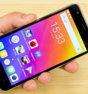 Новый смартфон с отпечатком пальца