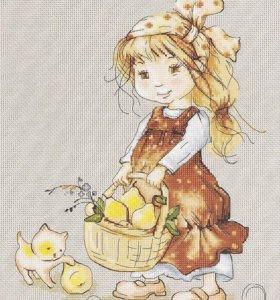 """Набор для вышивания Luca-S """"По груши"""""""
