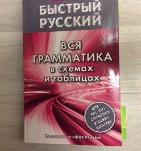 Грамматика русского в таблицах